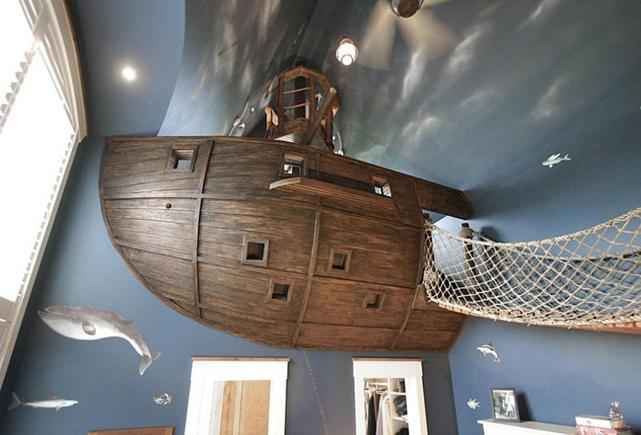 Пиратская тематика от Kuhl Design Build