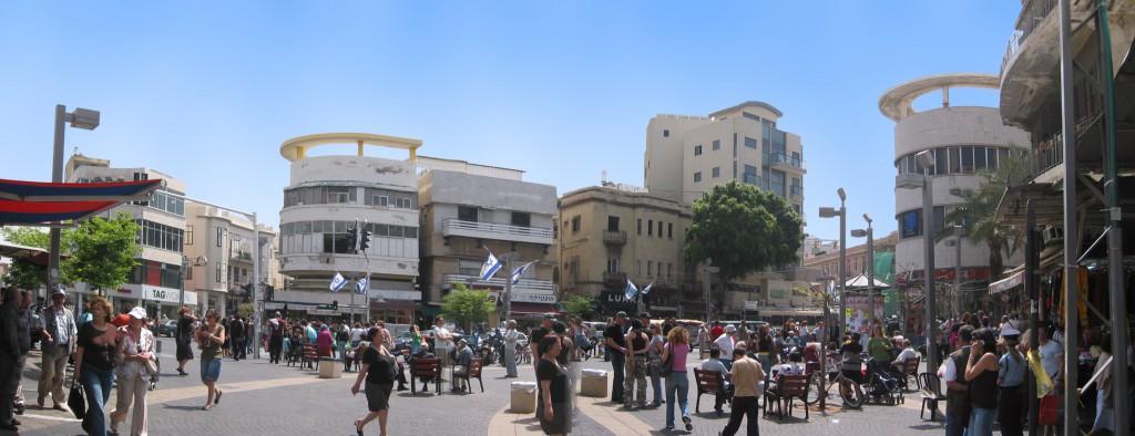 Tel_Aviv_Magen-david-Sq_panorama