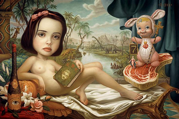 Странные-картины-Марк-Райден-Mark-Ryden-16