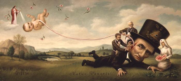 Странные-картины-Марк-Райден-Mark-Ryden-20