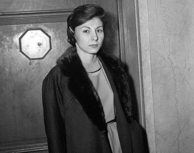Мастер самообладания, лжесвидетельница Палма Витал, 1961 год.