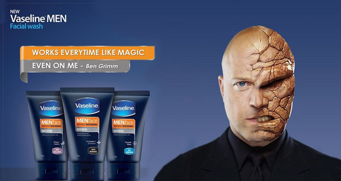 Вазелин для вашей кожи.