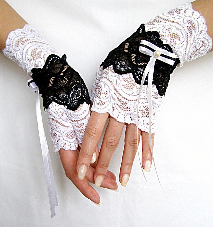 Митенки своими руками свадебные 41
