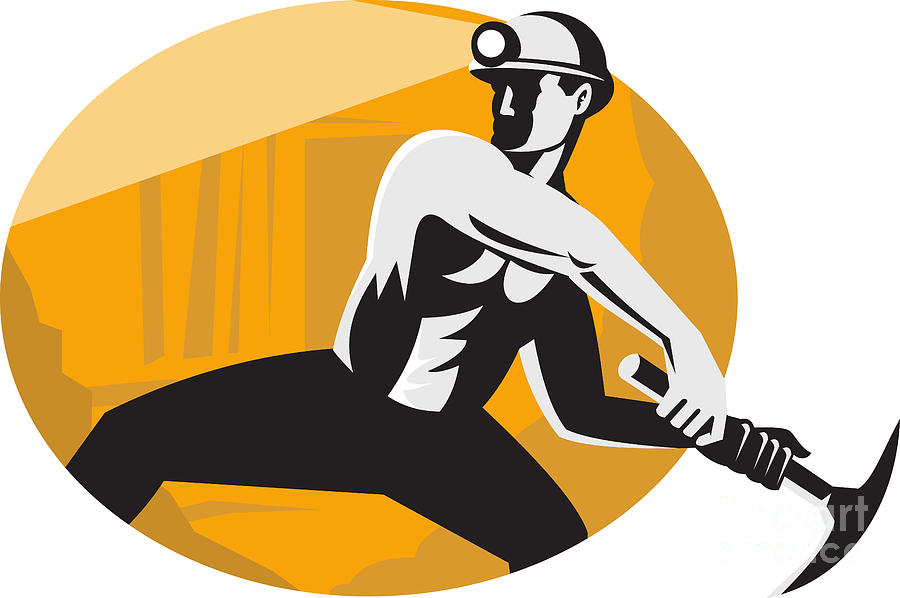 coal-miner-with-pick-ax-striking-retro-aloysius-patrimonio