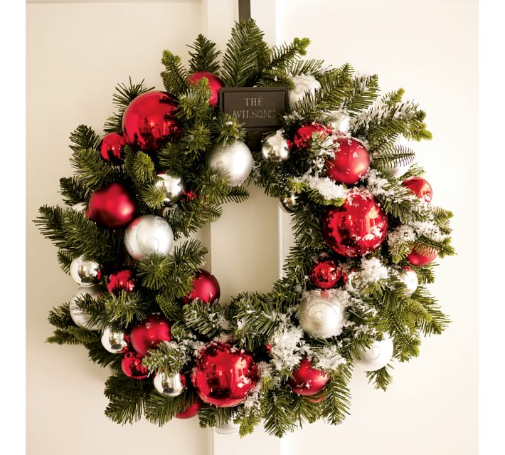 1448483188-outdoor-ornament-pine-wreath-garland-red-silver-o