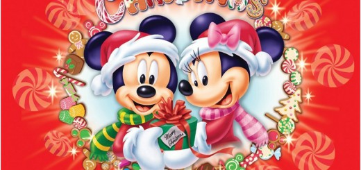 Merry-Christmas-Wallpaper-of-Disney-Mickey-And-Minnie-Mouse