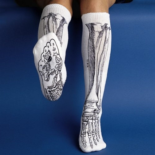 Skeleton-Bone-Socks