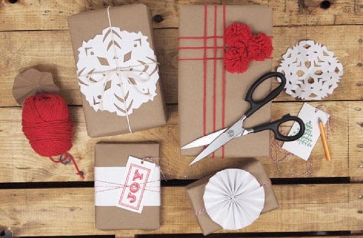 Как красиво сделать подарок на новый год