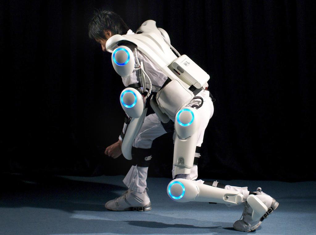 Japaner entwickeln Roboter-Anzüge für Senioren