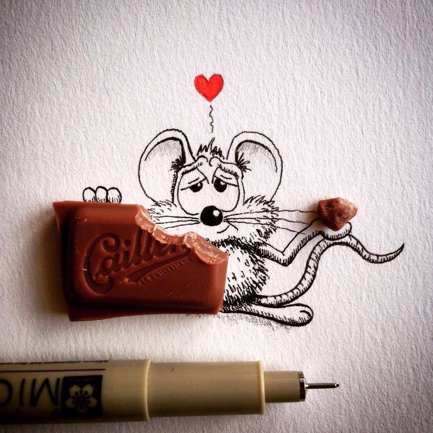 Мышонок Рикики
