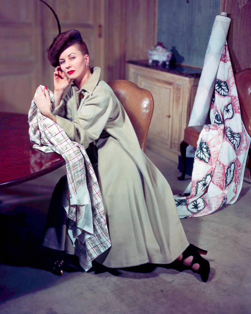 Modeling Coat Designed by Elsa Schiaparelli