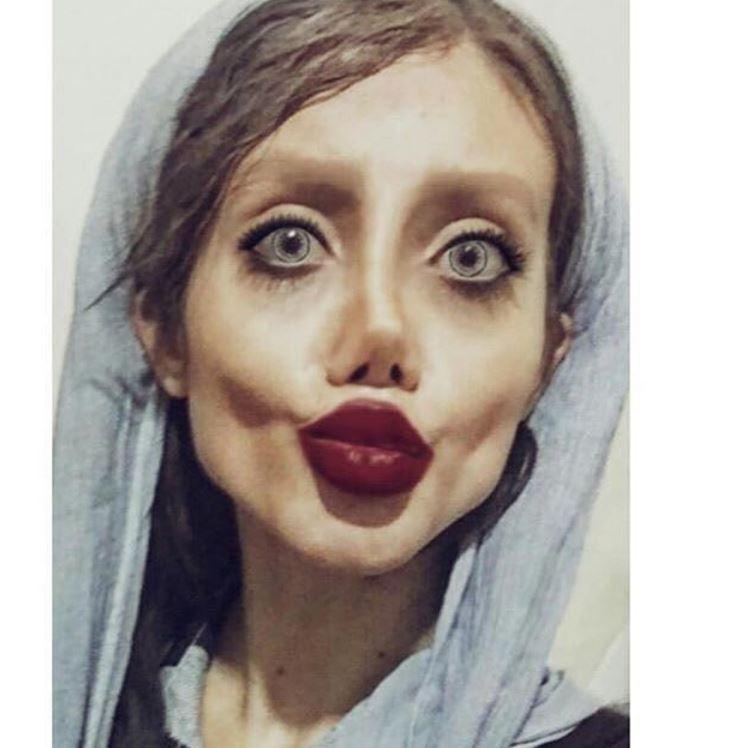 Сахар Табар: копия или некачественная подделка Анджелины Джоли?